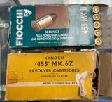 90 Cartridges of .455 MK II & MK 6Z - 1 of 1