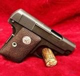 Colt 1908 -25ACP U.S. Property Vest Pocket Hammerless Pistol