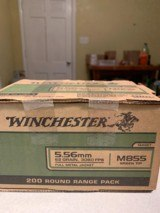 Winchester 5.56 Green Tip 62 Grain 1,500 Rounds