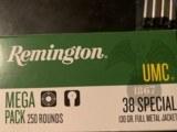 .38 Special Remington 250 Rounds