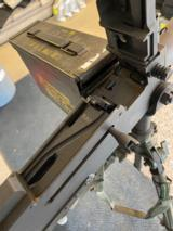 Rapid Fire (Troy, OH) 1919M4 - Browning 1919 copy, semi-auto, belt fed, includes tripod and ammo can, .308 Win/7.62 NATO - 13 of 14