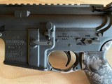 .223 and 5.56 chambered Bushmaster xm15 e2s AR15 rifle with skull design - 3 of 4