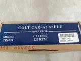 Colt Car - A3 HBar Elite Model CR 6724 5.56/.223 Cal - 4 of 8