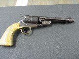 colt richards conversion 1860 army in 44 colt with ivory grips antique rare!!!!!