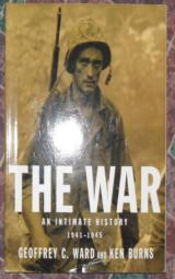 THE WAR AN INTIMATE HISTORY - 1 of 1