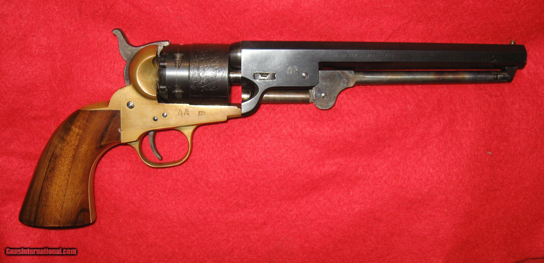 EUROARMS BRESCIA 44 CALIBER 1851 NAVY REVOLVER BLACK POWDER