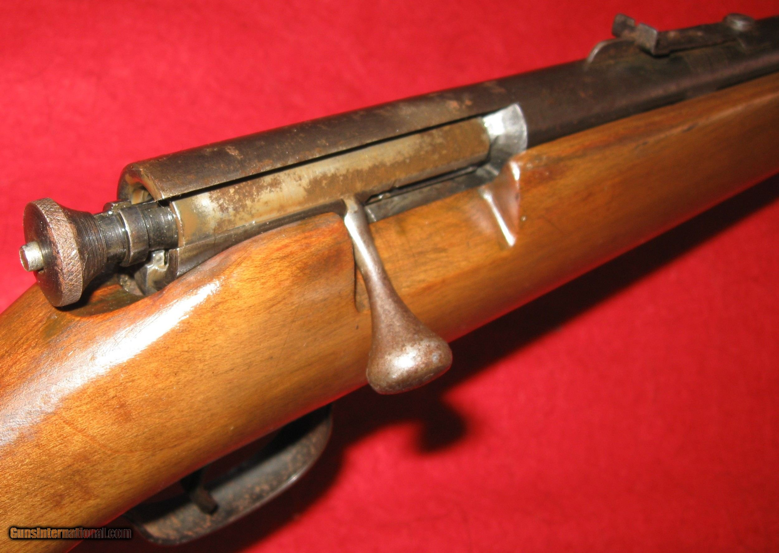 JC HIGGINS MODEL 101 24 (SEARS) 22 S,L,LR SINGLE SHOT BOLT