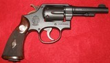 SMITH & WESSON CIVILIAN/COMMERCIAL VICTORY MODEL IN 38 SPECIAL