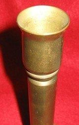 WORLD WAR II SHELL CASE CANDLE HOLDER - 2 of 5