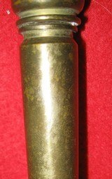 WORLD WAR II SHELL CASE CANDLE HOLDER - 4 of 5