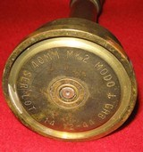 WORLD WAR II SHELL CASE CANDLE HOLDER - 1 of 5