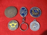 5 SHOOTING RELATED MEDALIONS AND KEY CHAIN - 2 of 2