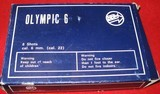 OLYMPIC 6 BLANK PISTOL 22 CALIBERMADE BY BBM NEW IN BOX - 2 of 3