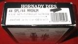 HORNADY TITANIUM NITRIDE 3-DIE 44 SPECIAL/44 MAGNUM DIE SET