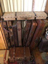 Many English Gun Cases