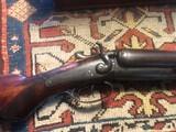 W Richards English 10 ga Hammer Gun - 1 of 8
