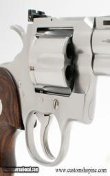 Colt Python .357 Mag. Satin Stainless 4