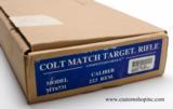 Factory Original Colt Match Target Competition HBAR II.223 Box.Excellent Condition.