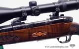 Weatherby Mark V Crown Grade Custom 300 Wby Mag. With Zeiss Diavari V 3-12x56. Beautiful Rifle - 8 of 14