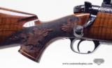 Weatherby Mark V Crown Grade Custom 300 Wby Mag. With Zeiss Diavari V 3-12x56. Beautiful Rifle - 3 of 14