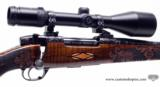 Weatherby Mark V Crown Grade Custom 300 Wby Mag. With Zeiss Diavari V 3-12x56. Beautiful Rifle - 5 of 14