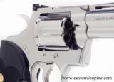 Colt Python .357 Mag.4 Inch Bright Stainless Finish. LNIB - 4 of 8