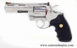 Colt Python .357 Mag.4 Inch Bright Stainless Finish. LNIB - 6 of 8