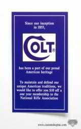 Colt King Cobra Box, OEM Case With 1993 Manual, Paperwork, Plus Added Bonus - 9 of 14