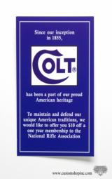 Colt King Cobra Factory Paperwork Packet - 8 of 11