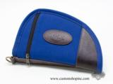 NEW Colt, Rugged 8 Inch Blue Canvas, Soft Case.