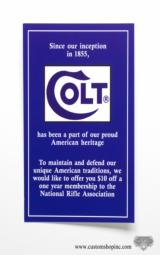 Colt Double Action Revolver Papers Pack. 1997 - 6 of 11