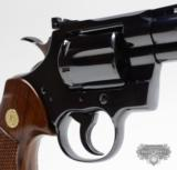 Colt Python .357 Mag.4 Inch BlueFinish.Like New In Box. 1981 - 4 of 8