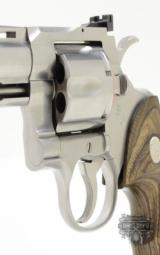 Colt Python 'ELITE' .357 Mag. 6 inch Stainless Finish. Like New. In Blue Case. 1998 - 9 of 10