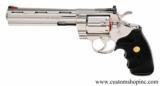 Colt Python .357 Mag.6 InchBright Stainless Finish.'Like New In Blue Case'. - 6 of 9