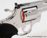Colt Python .357 Mag.6 InchBright Stainless Finish.'Like New In Blue Case'. - 4 of 9