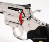 Colt Python .357 Mag.6 InchBright Stainless Finish.'Like New In Blue Case'. - 7 of 9