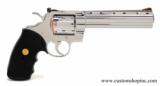 Colt Python .357 Mag.6 InchBright Stainless Finish.'Like New In Blue Case'. - 3 of 9