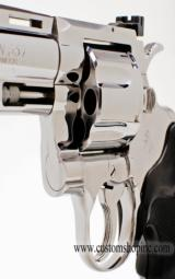 Colt Python .357 Mag.6 InchBright Stainless Finish.'Like New In Blue Case'. - 8 of 9