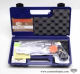 Colt Python .357 Mag.6 Inch Bright Stainless Finish.Like New In Blue Case.1986 - 2 of 9