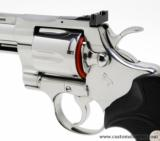 Colt Python .357 Mag.8 Inch Bright Stainless. Like New In Blue Case With Paperwork - 4 of 8