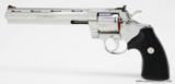 Colt Python .357 Mag.8 Inch Bright Stainless. Like New In Blue Case With Paperwork - 5 of 8