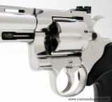 Colt Python .357 Mag.8 Inch Bright Stainless. Like New In Blue Case With Paperwork - 3 of 8
