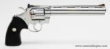 Colt Python .357 Mag.8 Inch Bright Stainless. Like New In Blue Case With Paperwork - 8 of 8