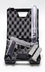 Kimber Eclipse 'Classic Stainless Target'. .45 ACP. Like New In Original Case - 1 of 6