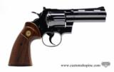 Colt Python .357 Mag.4 Inch Colt Blue Finish. Like New. Collector Quality.- 1 of 7