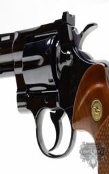 Colt Python .357 Mag.4 Inch Colt Blue Finish. Like New. Collector Quality.- 5 of 7