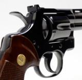 Colt Python 357 Mag 6 Inch Blue. DOM 1981. Like New. No Box - 4 of 8