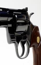 Colt Python 357 Mag 6 Inch Blue. DOM 1981. Like New. No Box - 8 of 8