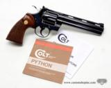 Colt Python 357 Mag 6 Inch Blue. DOM 1981. Like New. No Box - 1 of 8
