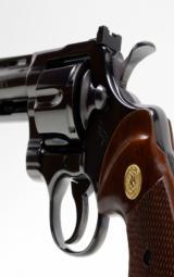 Colt Python 357 Mag 6 Inch Blue. DOM 1981. Like New. No Box - 7 of 8
